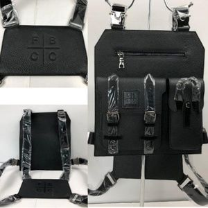 Fly boys couture club leather jetpack chest rig